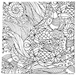Tangle Rahmen'Blumen', 3er-Set, 20x20cm