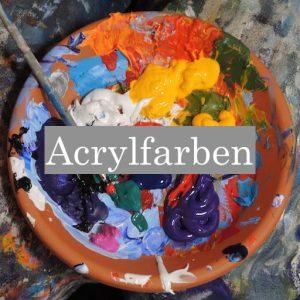 Malen mit Acryl gute Acrylfarben